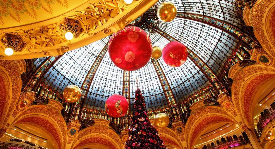 Les Galeries Lafayette a Paris.